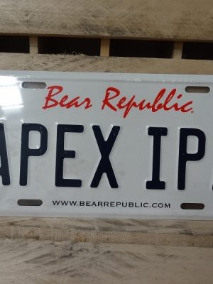 Matrícula Bear Republic Apex IPA