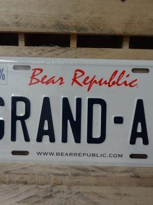 Matrícula Bear Republic Grand AM